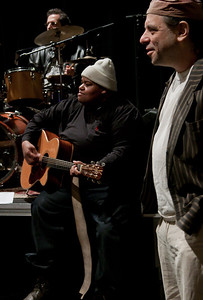 Toshi Reagon and Frank London.