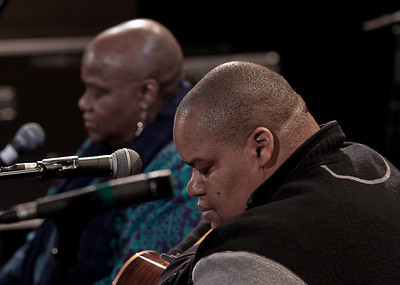 Toshi Reagon with Bernice Johnson Reagon.