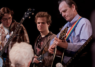 Livingston Taylor and members of Power of Song.