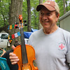 Doc's new fiddle