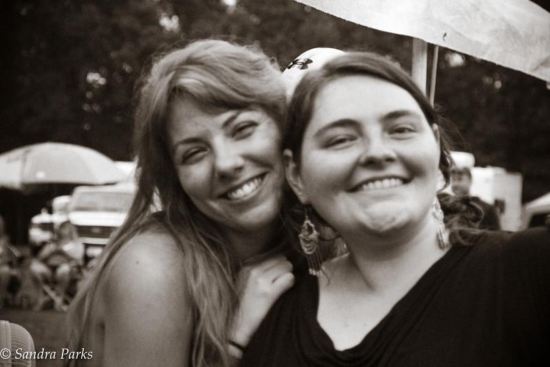 Maureen and Kathryn