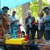 Martini Monday and Tthe Infamous RockemSockem Robot Tournament