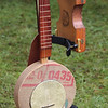 Interesting banjo, with Hay Fever
