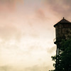 Water Tower, sunset
