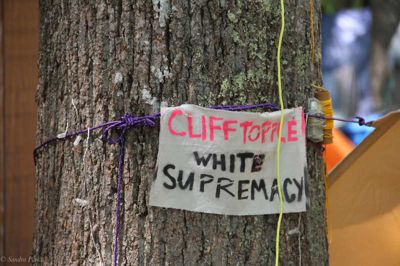 CliffTopple white supremacy