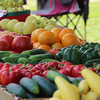 The  produce stand