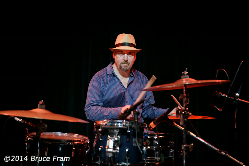 Fox Blues Jam at Club Fox Hosted by Garth Webber. August, 2014