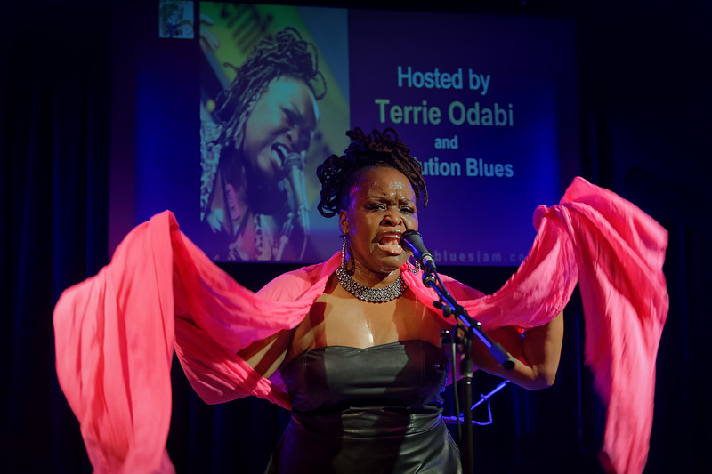 Fox Blues Jam Hosted By Terrie Odabi