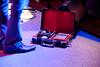 Aki Kumar and his Harmonicas at the Fox Blues Jam