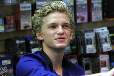 Cody Simpson's personal appearance at FYE in Meriden, Connecticut on September 2, 2012