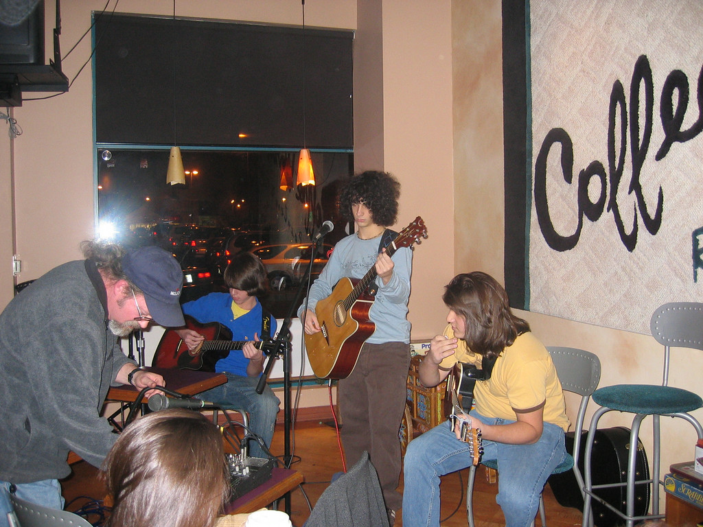 Open Mic Night At The Coffee Works, Voorhees NJ