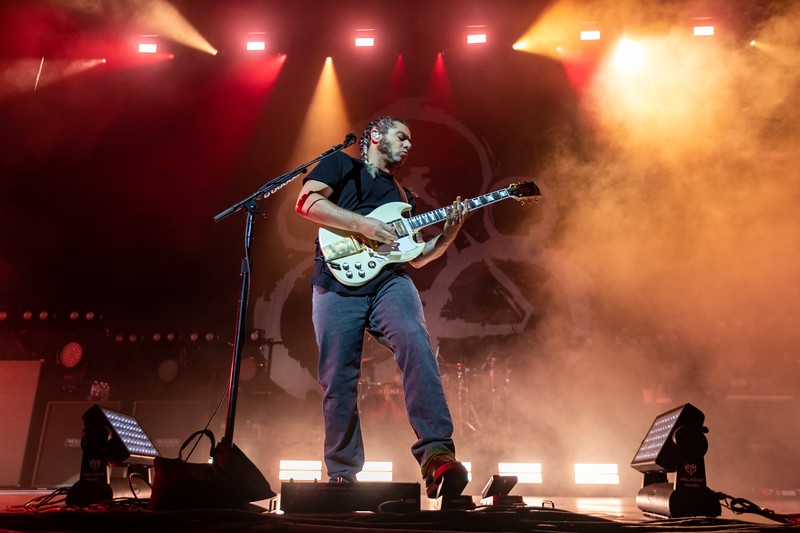 Coheed and Cambria at the TCU Amphitheater at White River State Park Indianapolis, IN September  15, 2021.