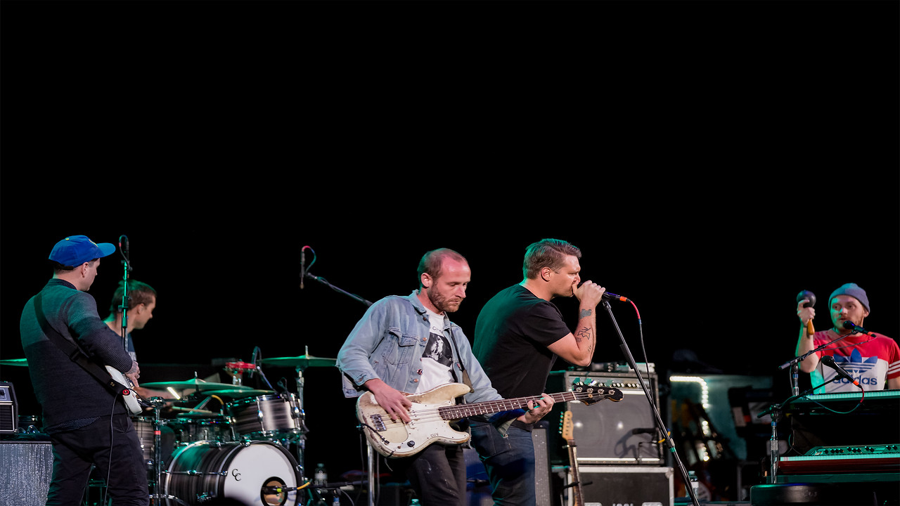December 1, 2015 MOKB Presents Cold War Kids opening for Death Cab For Cutie at the Old National Centre in Indianapolis, Indiana.
