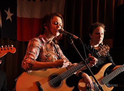 Coles Whalen and bassist Kim O'hara