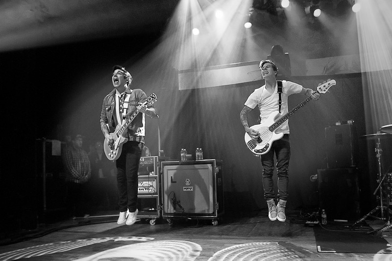 Jack Fowler & Justin Hills of Sleeping With Sirens