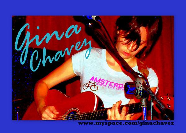 Gina performs at Momos in Austin, TX / 2008