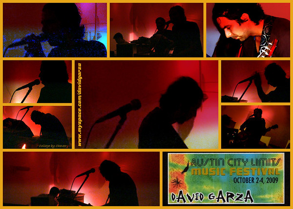David Garza upstairs at The Gallery in Austin, TX / Jun, 2009