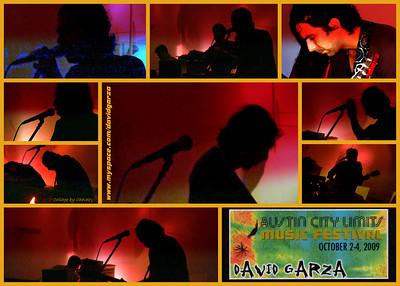 David Garza upstairs at The Gallery in Austin, TX / Jun, 2009