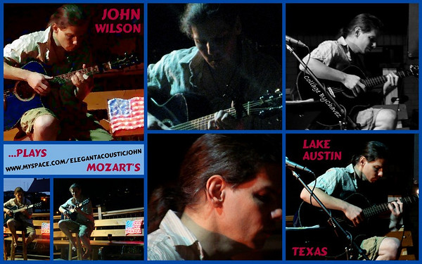 John Wilson live at Mozart's Coffee Roasters in Austin, TX / May, 2009