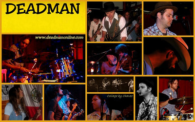 Deadman live at Momo's in Austin, TX / Jun, 2009