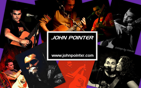 "Signature Poster/HandBill for John, using Photos from his MySpace / I call this tecnhique a ""Scramble"""