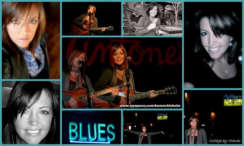 Photos from Karen Chisholm's MySpace--her photos, my arrangement / 2009