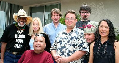 Bubba Faas, Black Man Clay, Laura Ward, Eric Heithaus and friends