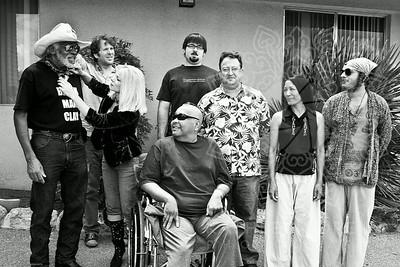 Bubba Faas, Black Man Clay, Eric Heithaus and friends.