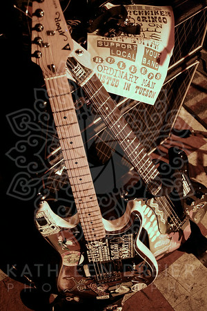 The guitars of Ted Riviera, The Gunrunners.