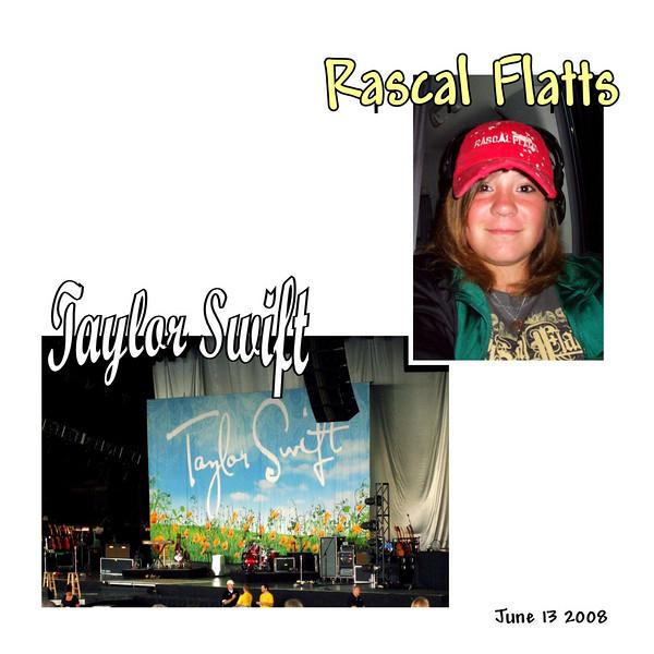 Taylor Swift / Rascal Flatts - June 13