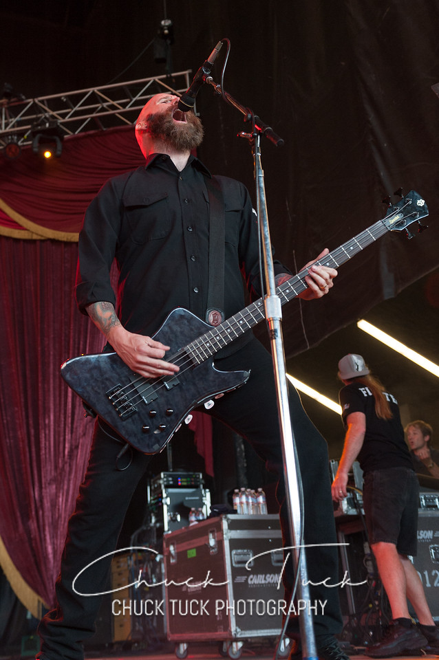 Five Finger Death Punch  in Concert on August 27, 2011 at White River Amphitheater