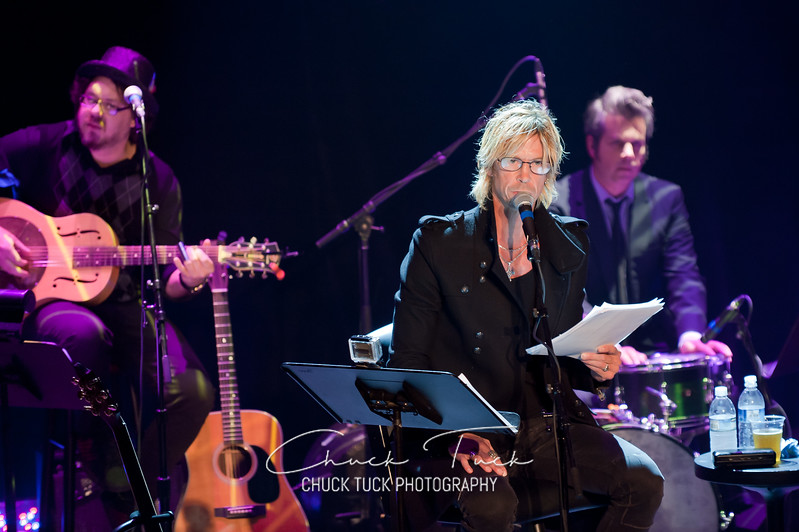 Duff McKagan event at Neptune Theater on October 20, 2011 in Seattle, WA