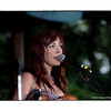 Amanda Shires performing at the Philadelphia Folk Festival