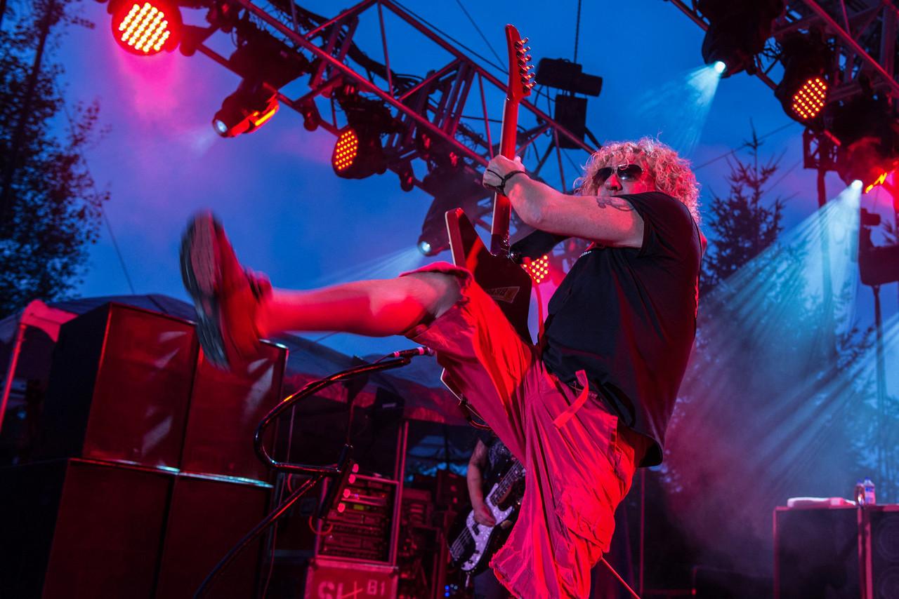 Sammy Hagar Four Decades of Rock Tour
