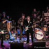 Members of The Last Waltz Tribute Band performing to a sold out crowd