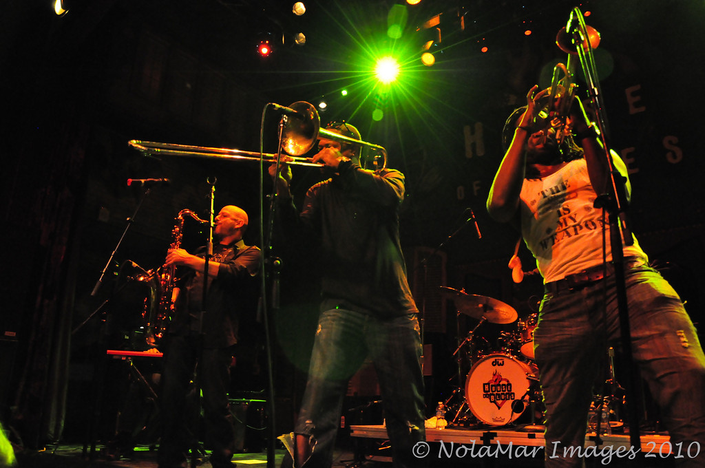 Galactic with Shamarr Allen - Back to the Beat 2009 Awards Show - New Orleans House of Blues 1/22/10