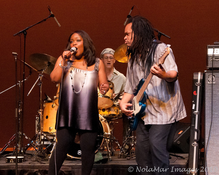 Shemekia Copeland - Manship Theater, Baton Rouge, LA  Feb. 21, 2010