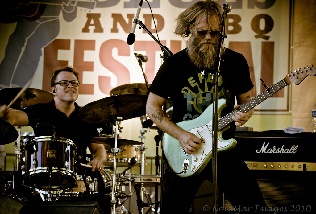 The Stanton Moore Trio w/Anders Osborne - Crescent City Blues & BBQ Festival 2010