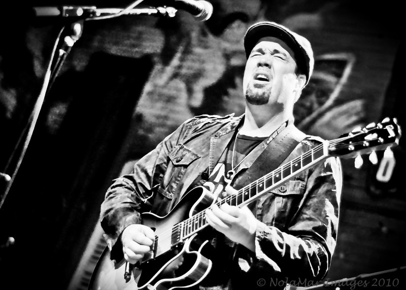Eric Krasno with Chapter 2 at New Orleans House of Blues During Jazz Fest 2010 - 4/29/10