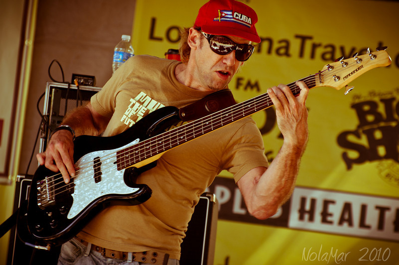 Sam Price - The Honey Island Swamp Band - Crescent City Blues & BBQ Festival 2010