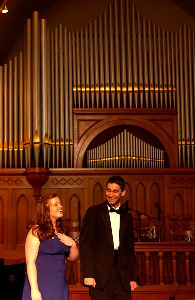 Jayson & Maggie after duet