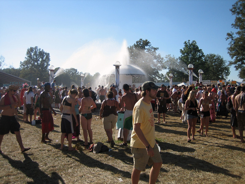 The center of the Bonnaroo universe