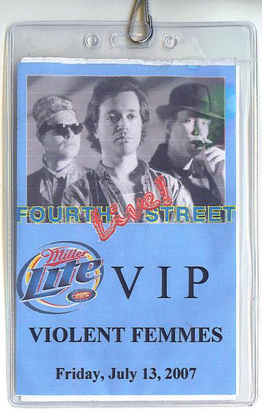 VIP Pass (front)