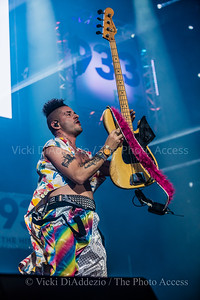 Cole Whittle of DNCE performing at 93.3 FLZ's iHeartRadio Jingle Ball on December 17, 2016 at Amalie Arena in Tampa, Florida.