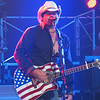 """Toby Keith during his """"Courtesy of the Red, White and Blue"""" encore."""
