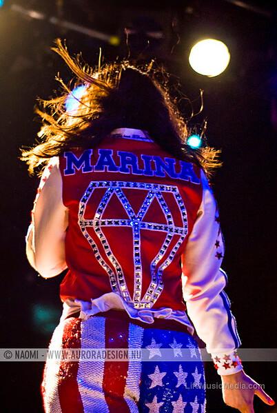 "Marina and The Diamonds @ The Hi-Fi, Melbourne - 28th December 2010  Photographer: <a href=""http://www.auroradesign.nu"" target=""_wina"">Naomi Rahim</a>  <a href=""http://lifemusicmedia.com"">LIFE MUSIC MEDIA</a>"
