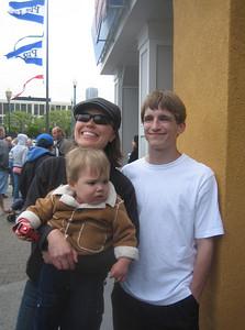 Tonya, Mateo and Aaron
