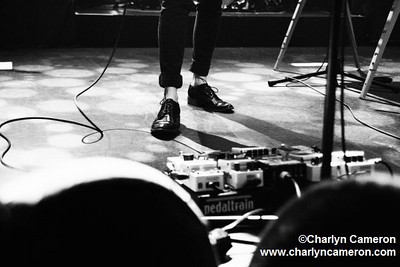 Tegan and Sara. Tegan's Shoes. The Tivoli, Brisbane. May 4, 2010. **Do not use without permission**