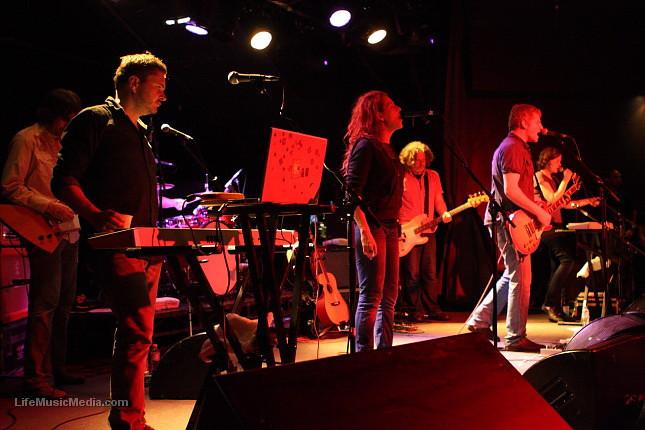 """The New Pornographers @ Hi-Fi, Melbourne - 13 November 2010  Photographer: Anna Kanci   <a href=""""http://lifemusicmedia.com"""">LIFE MUSIC MEDIA</a>"""