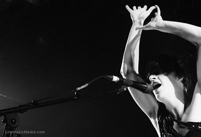 Washington @ The Tivoli, Brisbane - 04 May 2011  Photographer: Charlyn Cameron  LIFE MUSIC MEDIA
